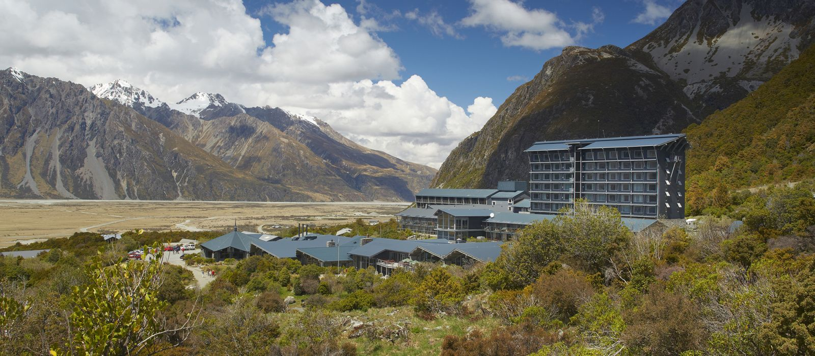 Hotel The Hermitage  Neuseeland