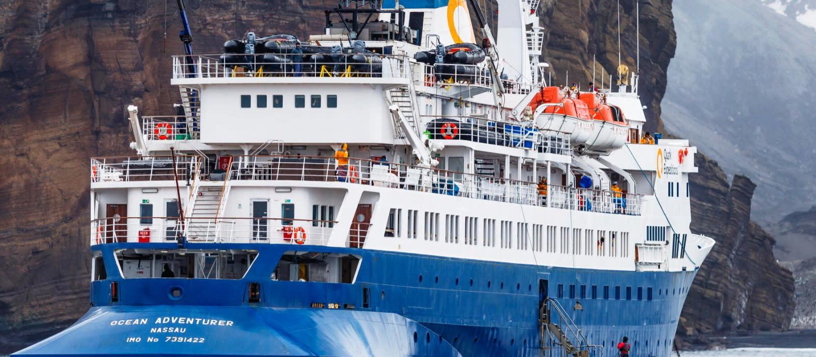 Hotel Ocean Adventurer by Quark Expeditions, The Arctic Arctic