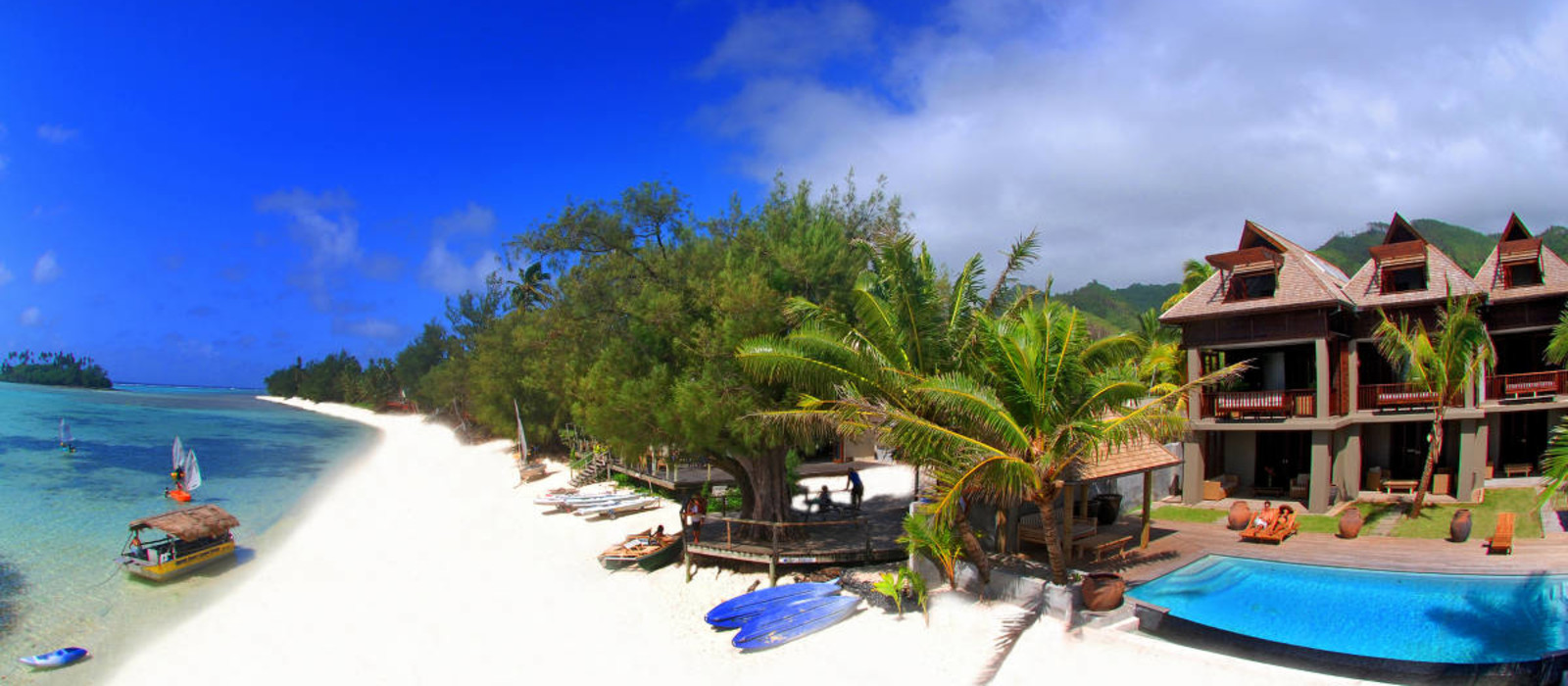 Hotel Te Vakaroa Villas Cook Inseln