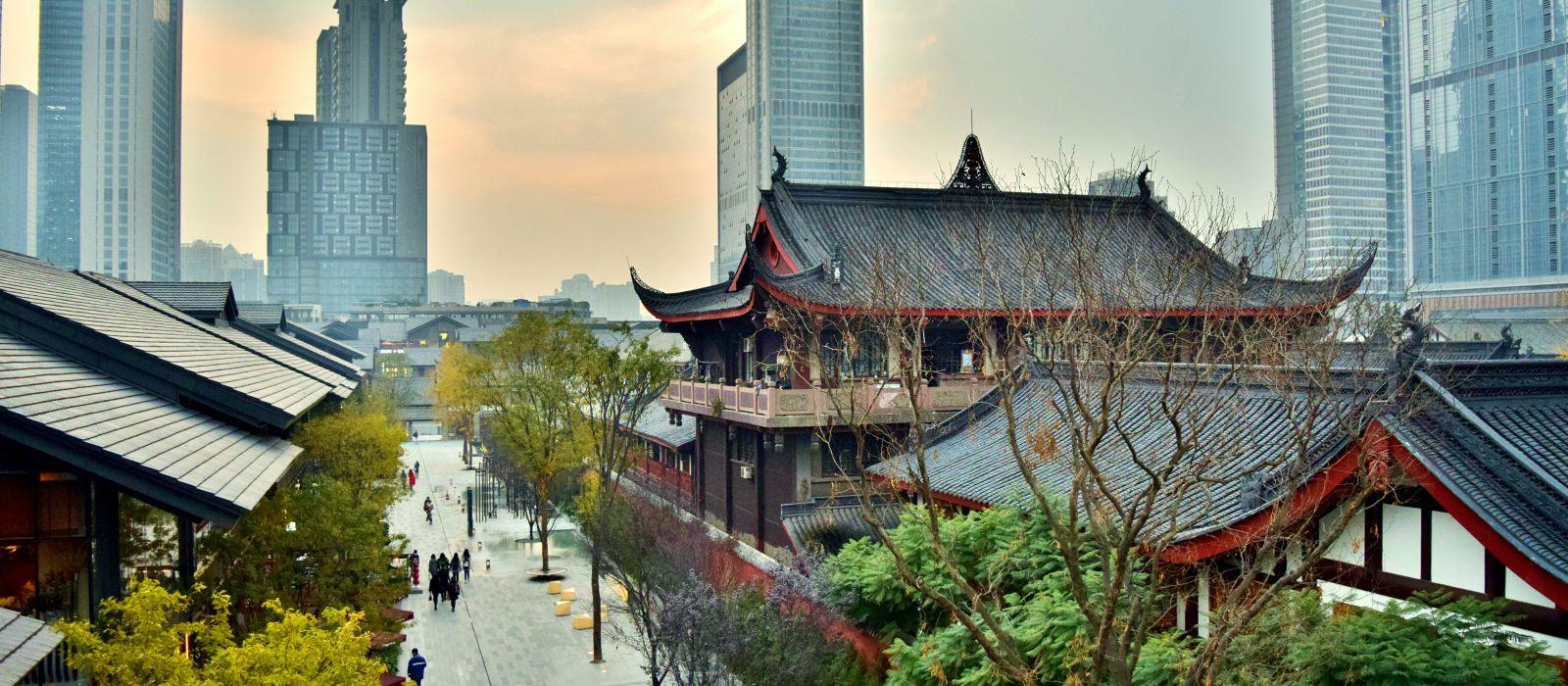 Destination Chengdu China
