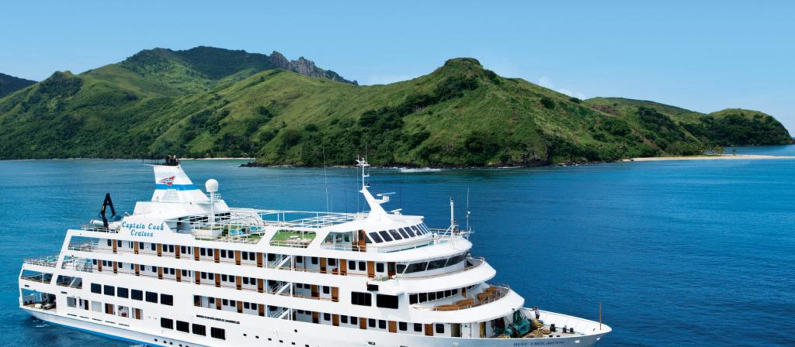 Hotel Captain Cook Cruises: MV Reef Endeavour Fiji
