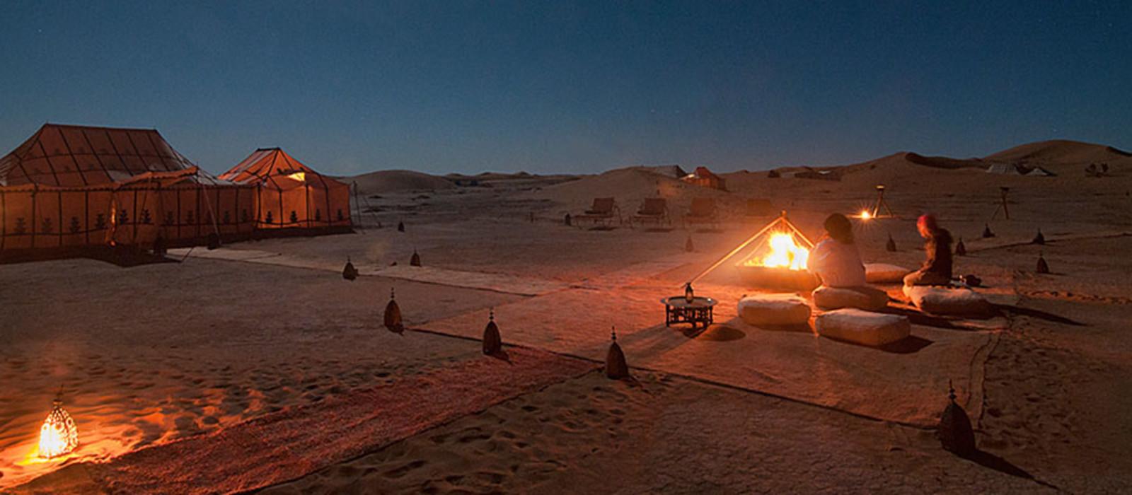 Hotel Erg Chegaga Luxury Desert Camp (Privates Camp) Marokko