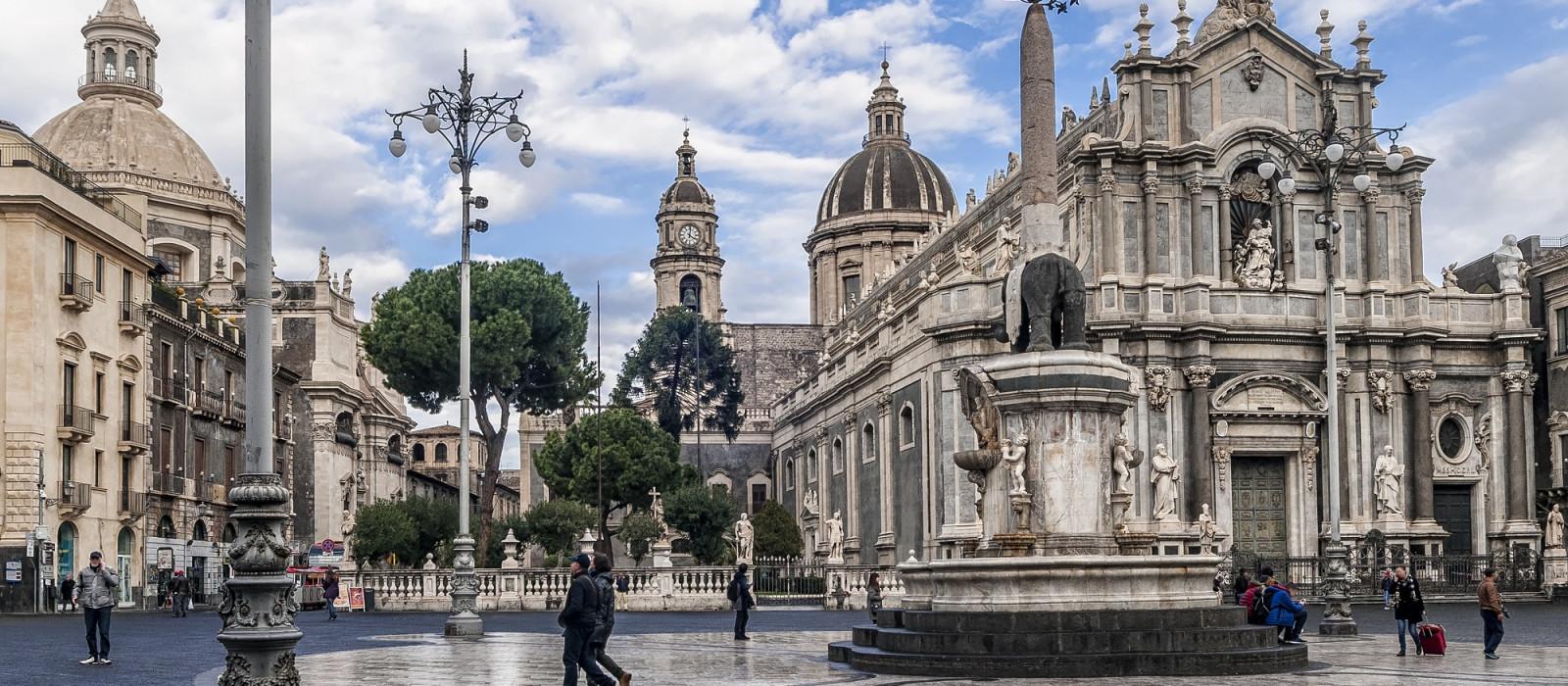 Reiseziel Catania Italien