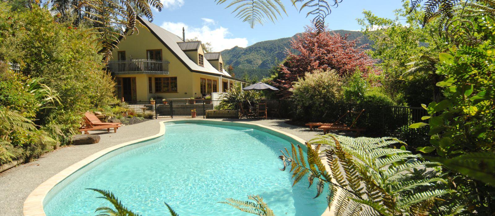 Hotel The Resurgence Neuseeland