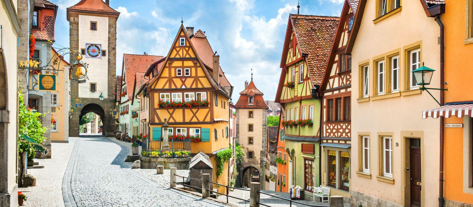 Destination Rothenburg ob der Tauber Germany