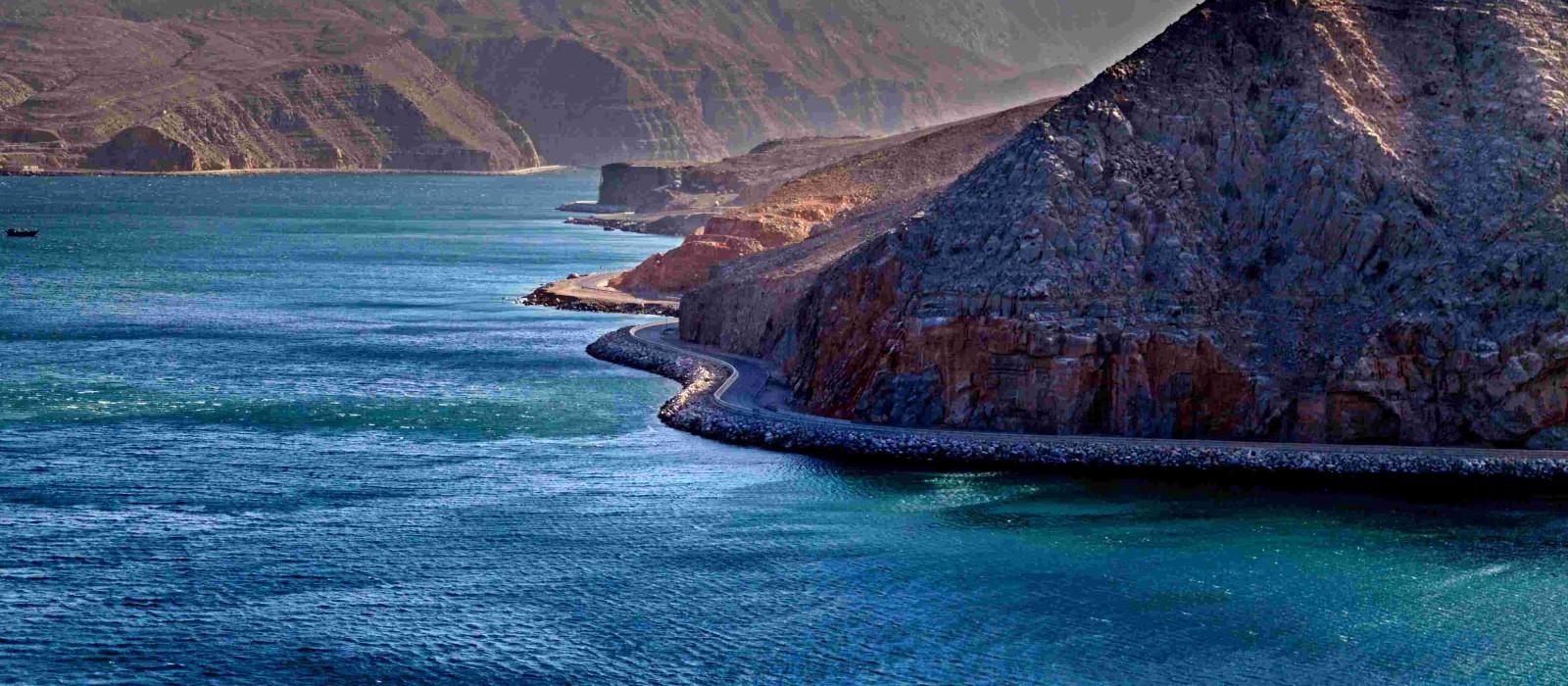 Reiseziel Dibba Vereinigte Arabische Emirate