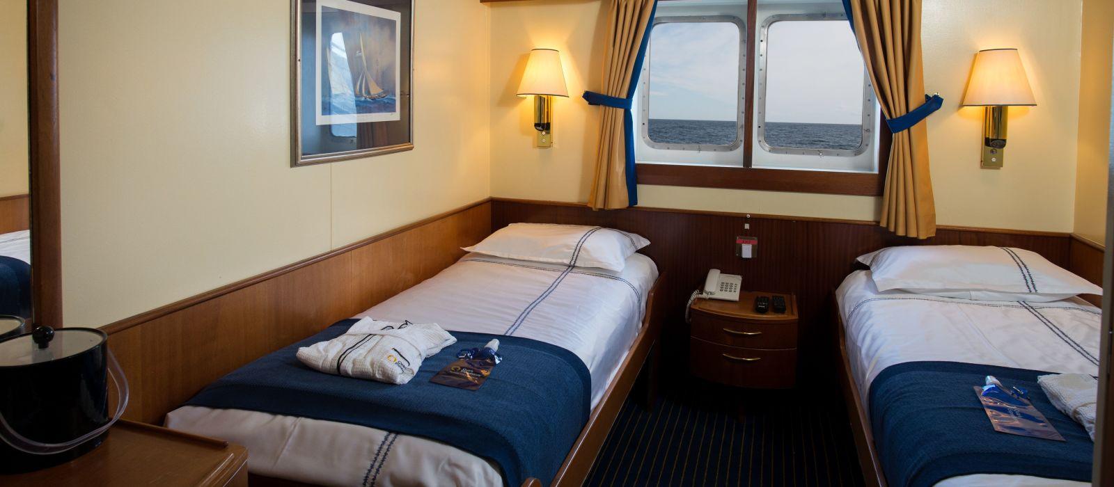 Hotel Ocean Adventurer by Quark Expeditions Antarctica