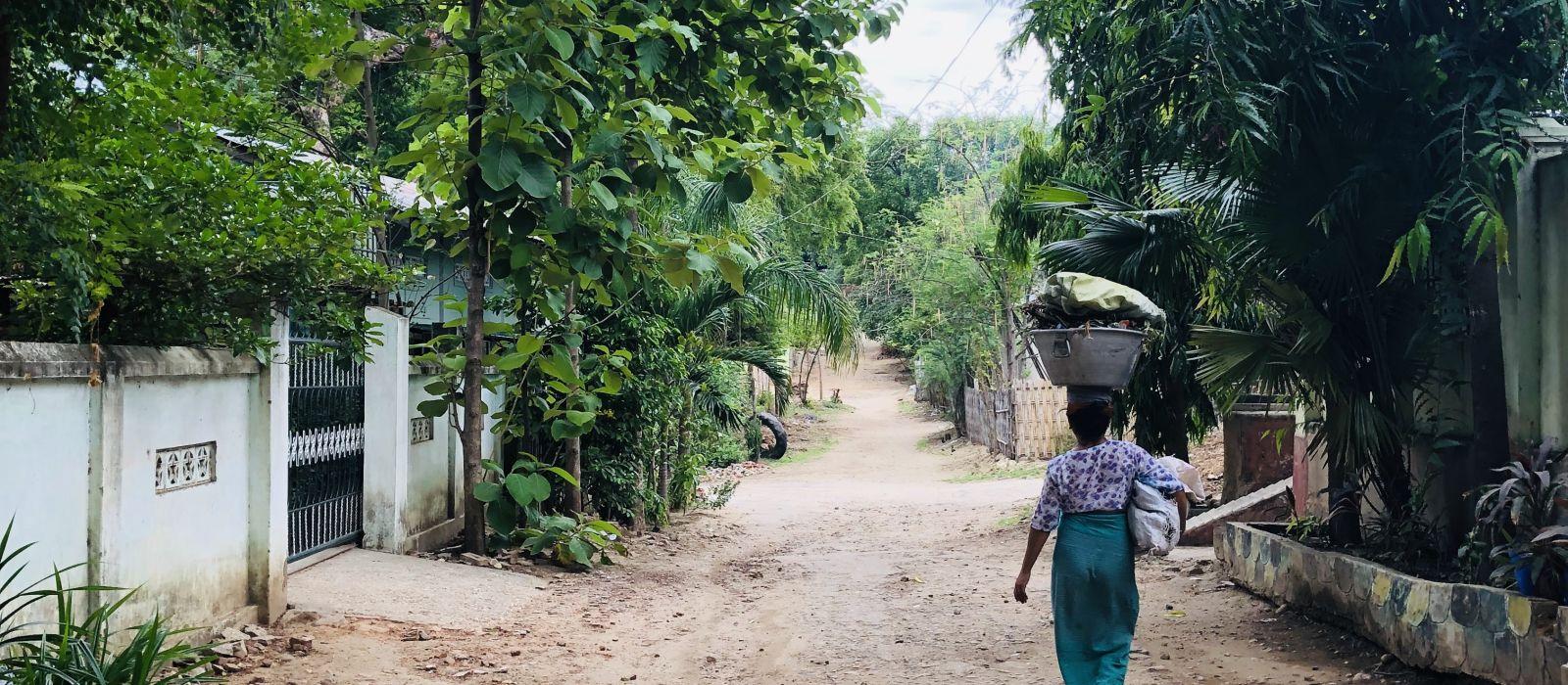 Reiseziel Salay Myanmar