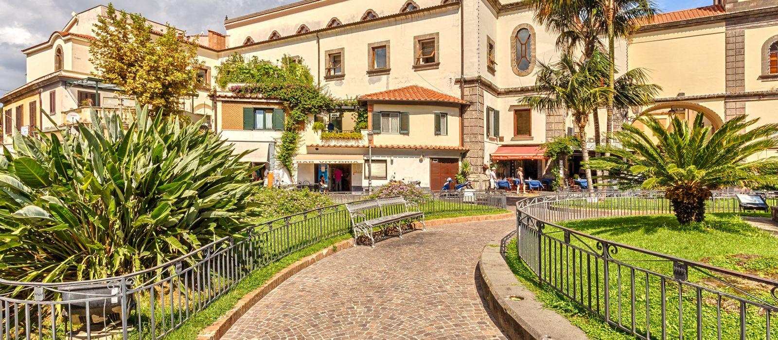 Reiseziel Sorrent Italien