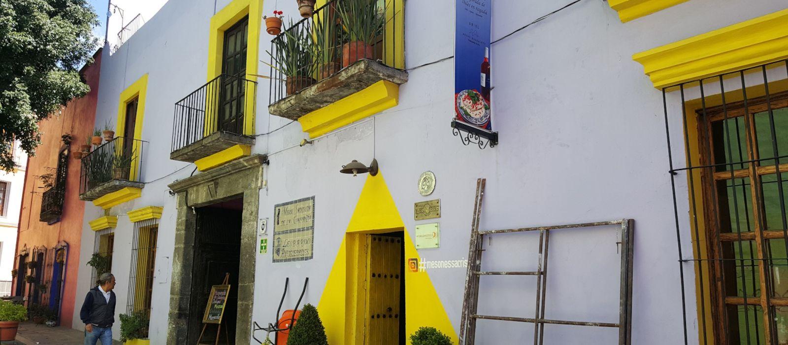 Hotel Meson Sacristia de la Compania Mexiko