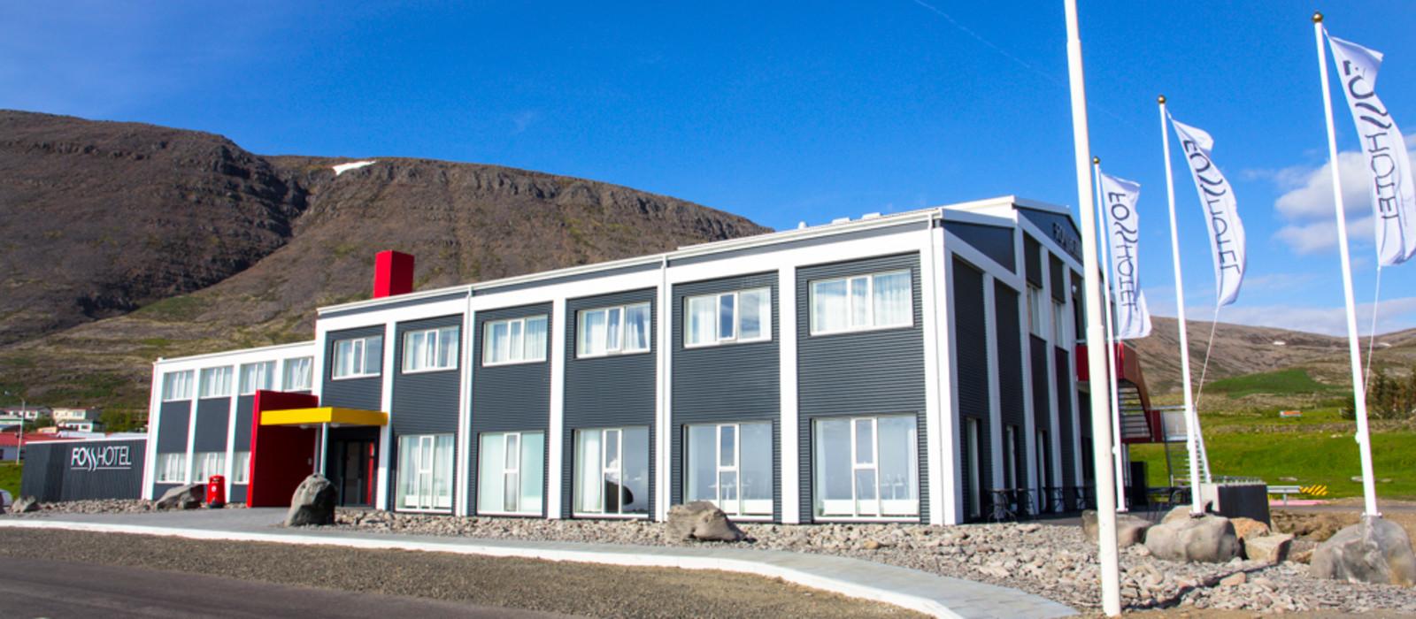 Hotel Westfjords Foss Island