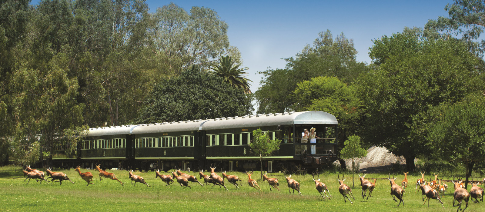 Hotel Rovos Rail: Victoria Falls – Pretoria South Africa