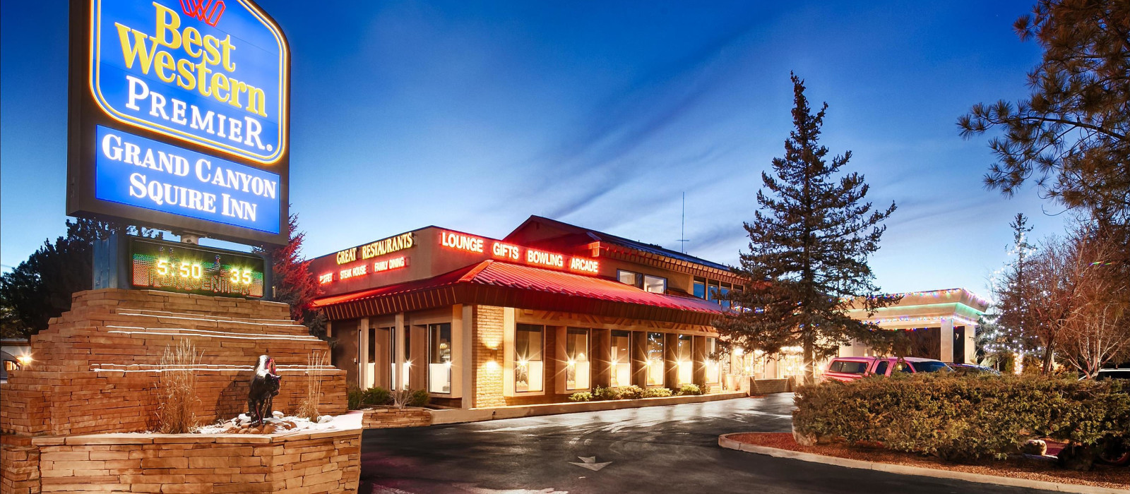 Hotel Best Western Premier Grand Canyon Squire Inn (Tusayan) USA