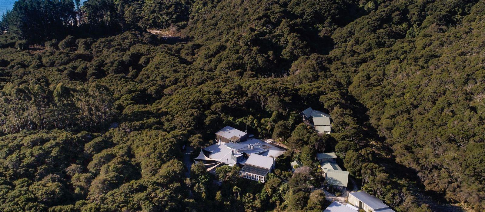Hotel Awaroa Lodge Neuseeland