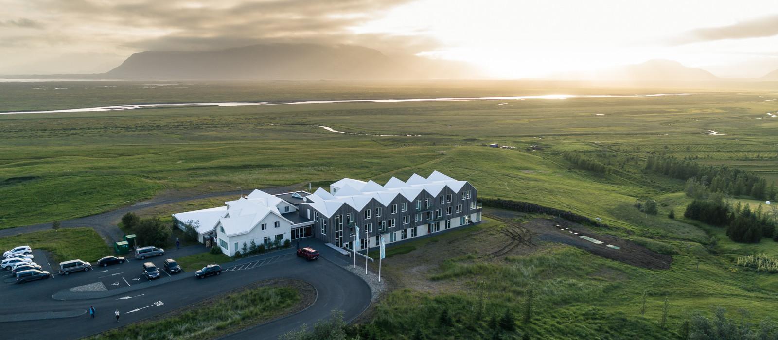Hotel Vatnajökull Foss Island