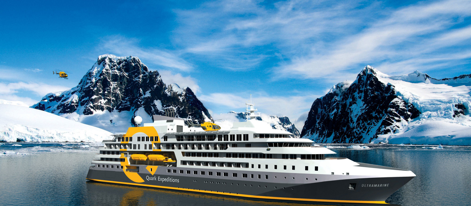 Hotel Ultramarine (Quark Expeditions) Antarktis