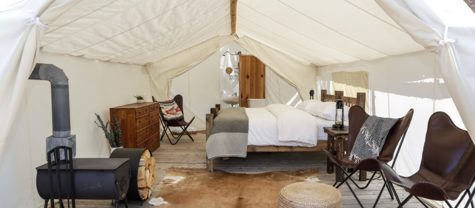 Hotel Under Canvas Grand Canyon USA