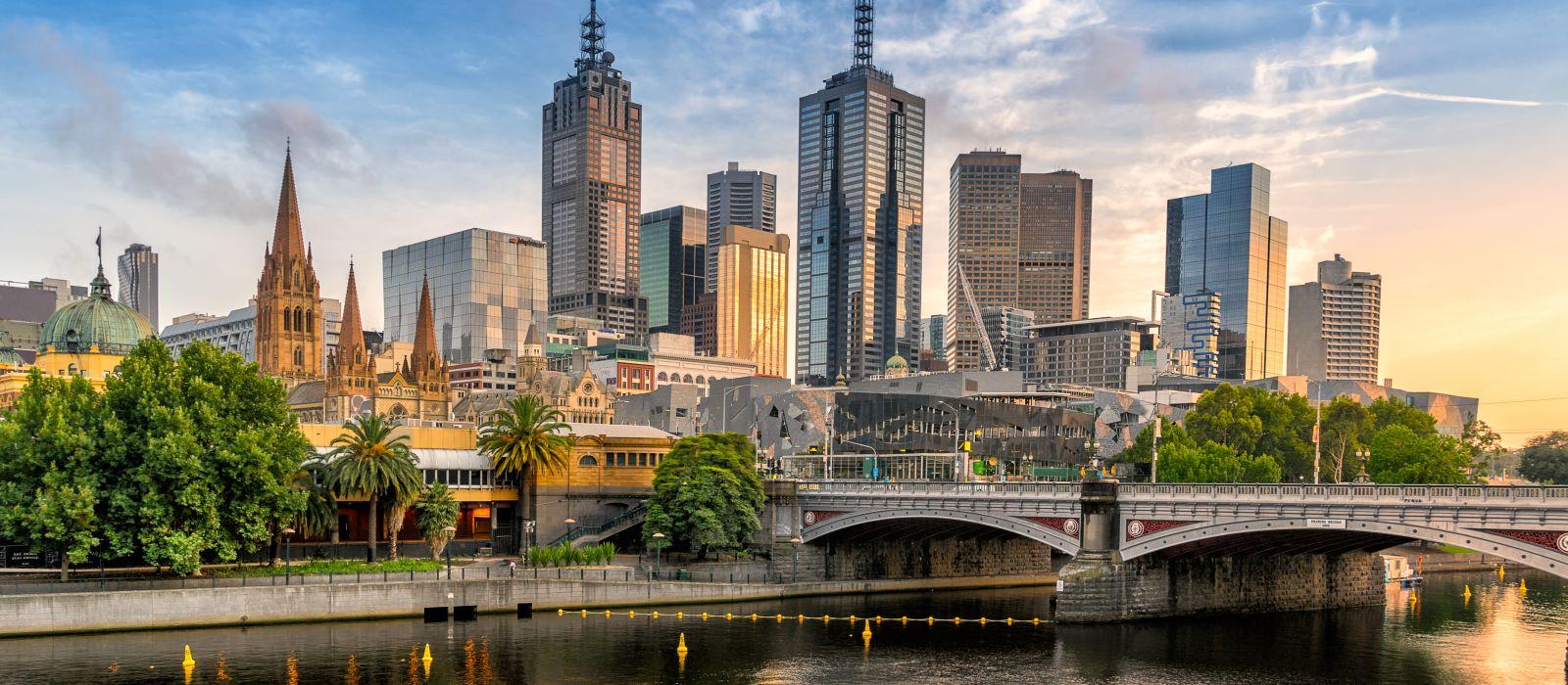 Reiseziel Melbourne Australien