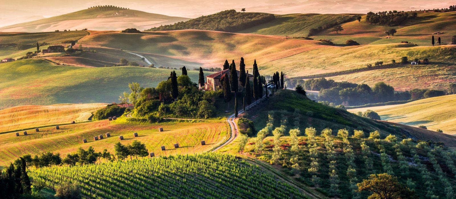 Destination Tuscany Italy