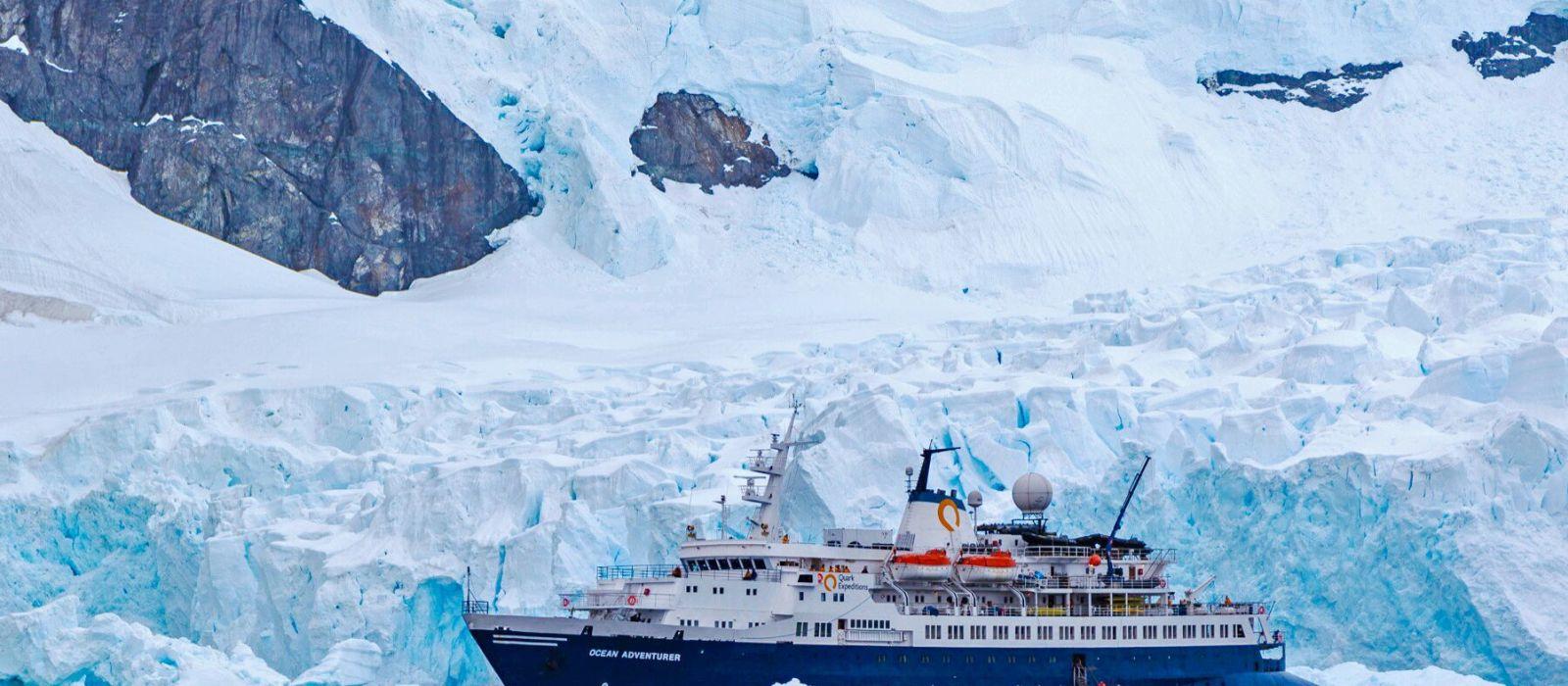 Hotel Ocean Adventurer by Quark Expeditions, Antarctica Antarctica