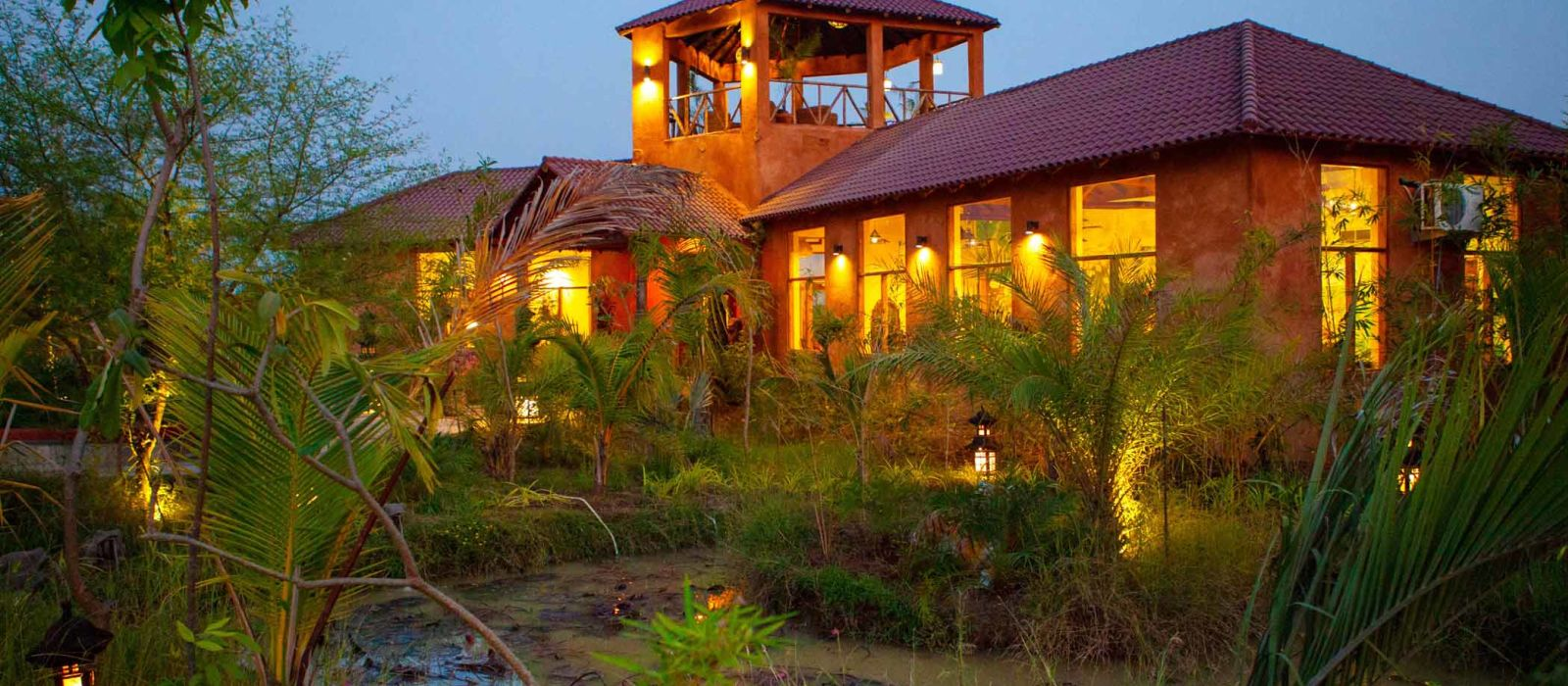Hotel The Bamboo Forest Safari Lodge Zentral- & Westindien