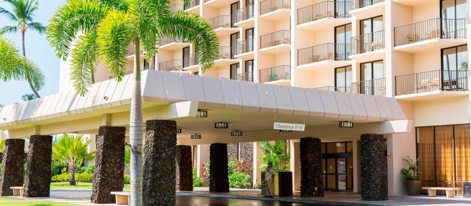 Hotel Courtyard King Kamehameha Kona Beach Hawaii