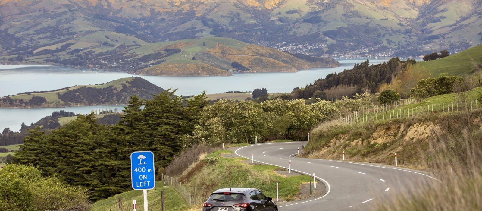 Reiseziel Akaroa Neuseeland