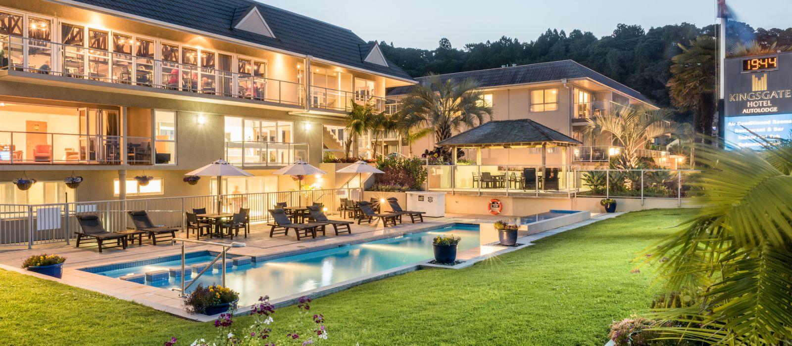 Hotel The Kingsgate  Autolodge Paihia Neuseeland