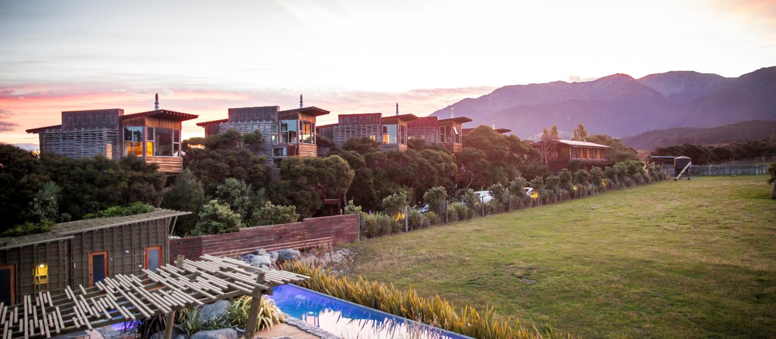 Hotel Hapuku Lodge + Tree Houses Neuseeland