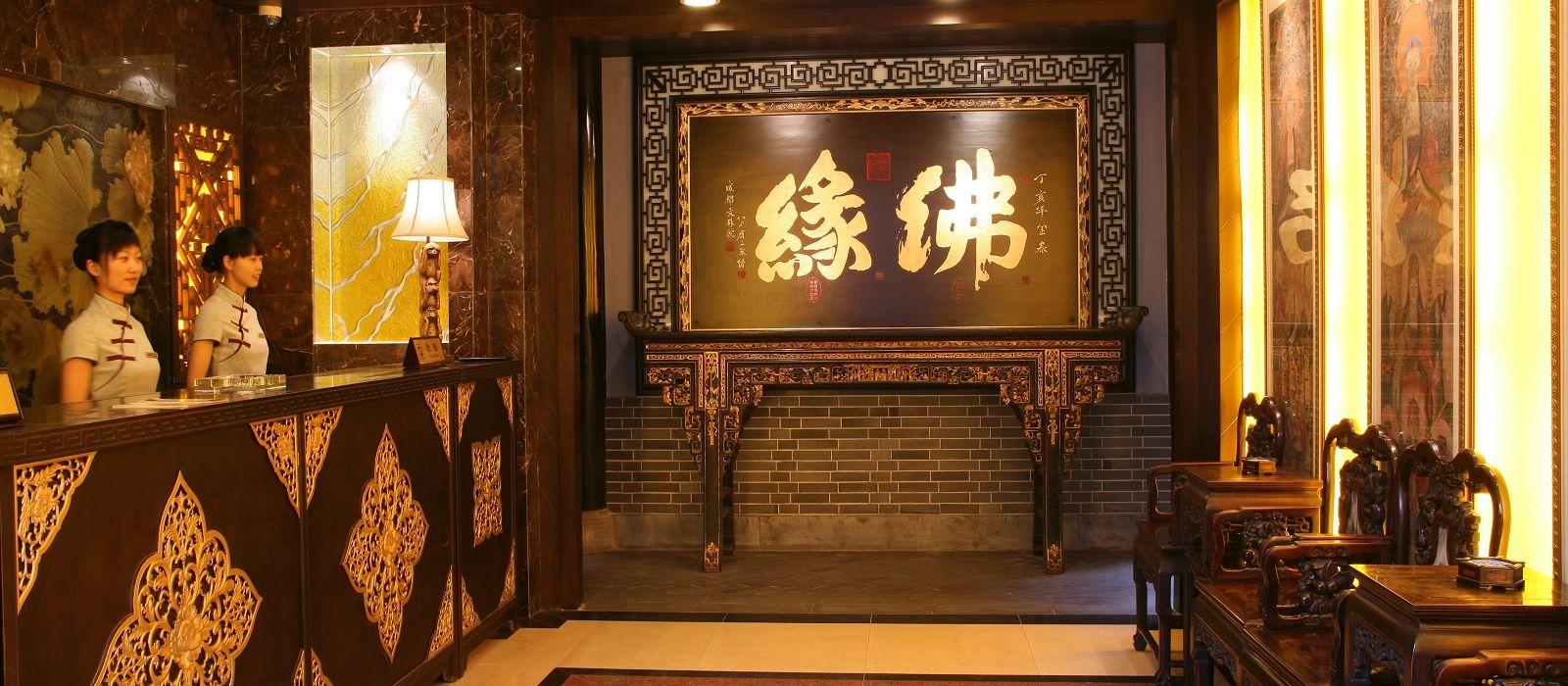 Hotel Buddha Zen  Chengdu China