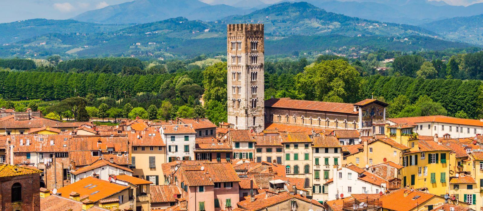 Destination Lucca Italy