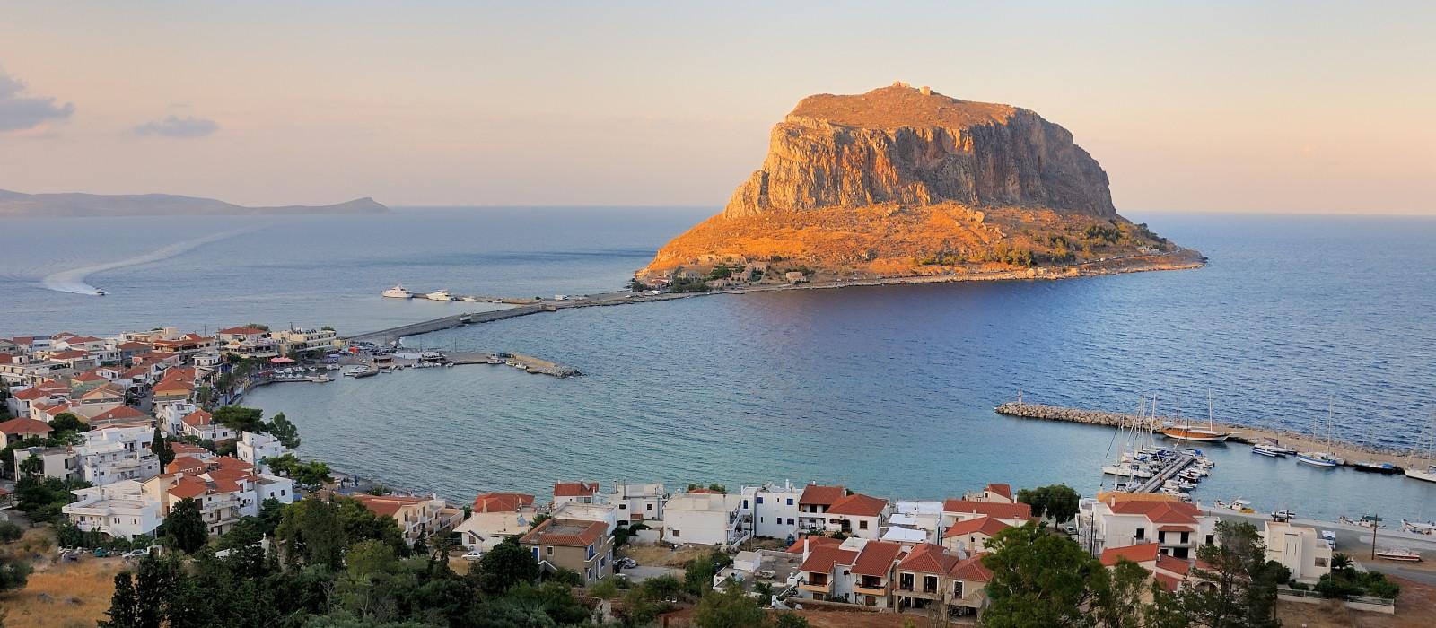 Destination Monemvasia Greece