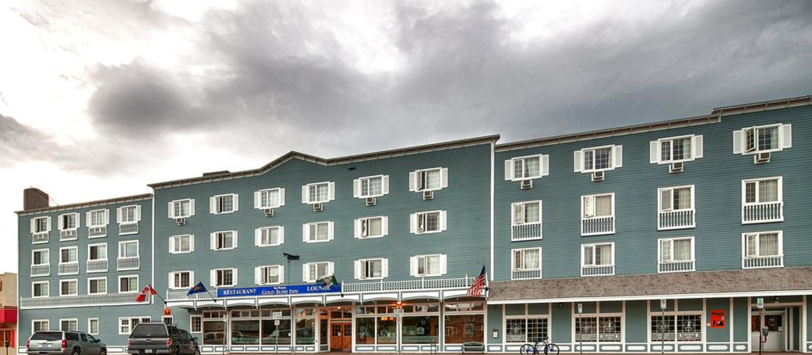 Hotel Best Western Gold Rush Inn Canada