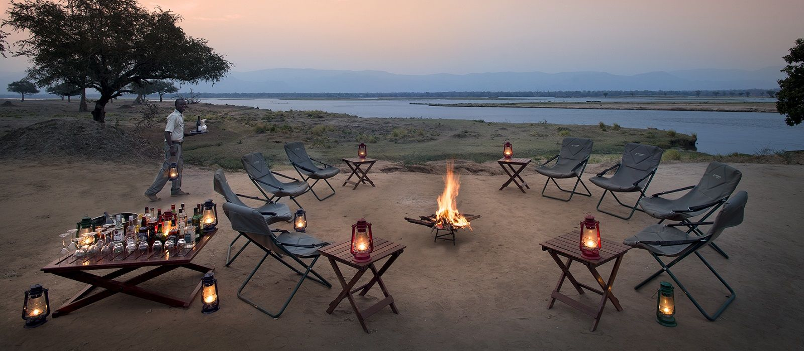 Hotel Zambezi Expeditions Camp Simbabwe