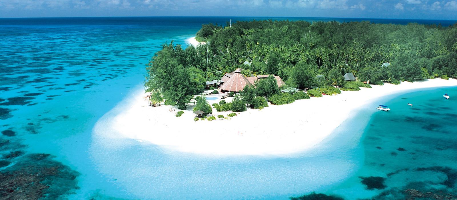 Hotel Denis Island Seychellen
