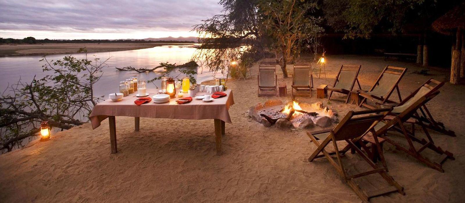 Hotel Kafunta Island Bush Camp Sambia