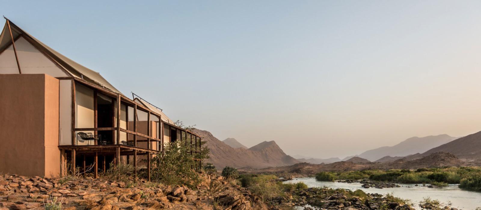 Hotel Okahirongo River Camp Namibia