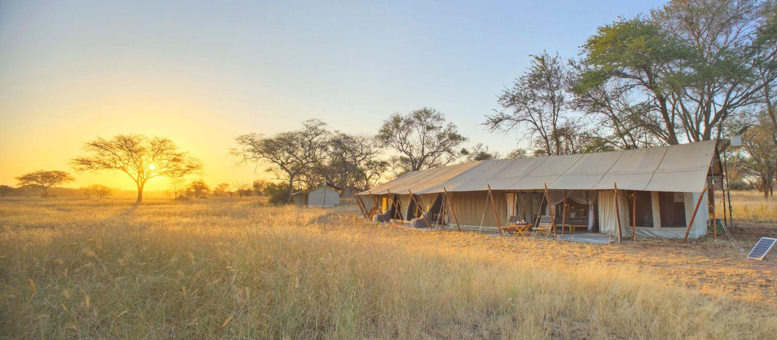 Hotel Ubuntu Migration Camp Tansania