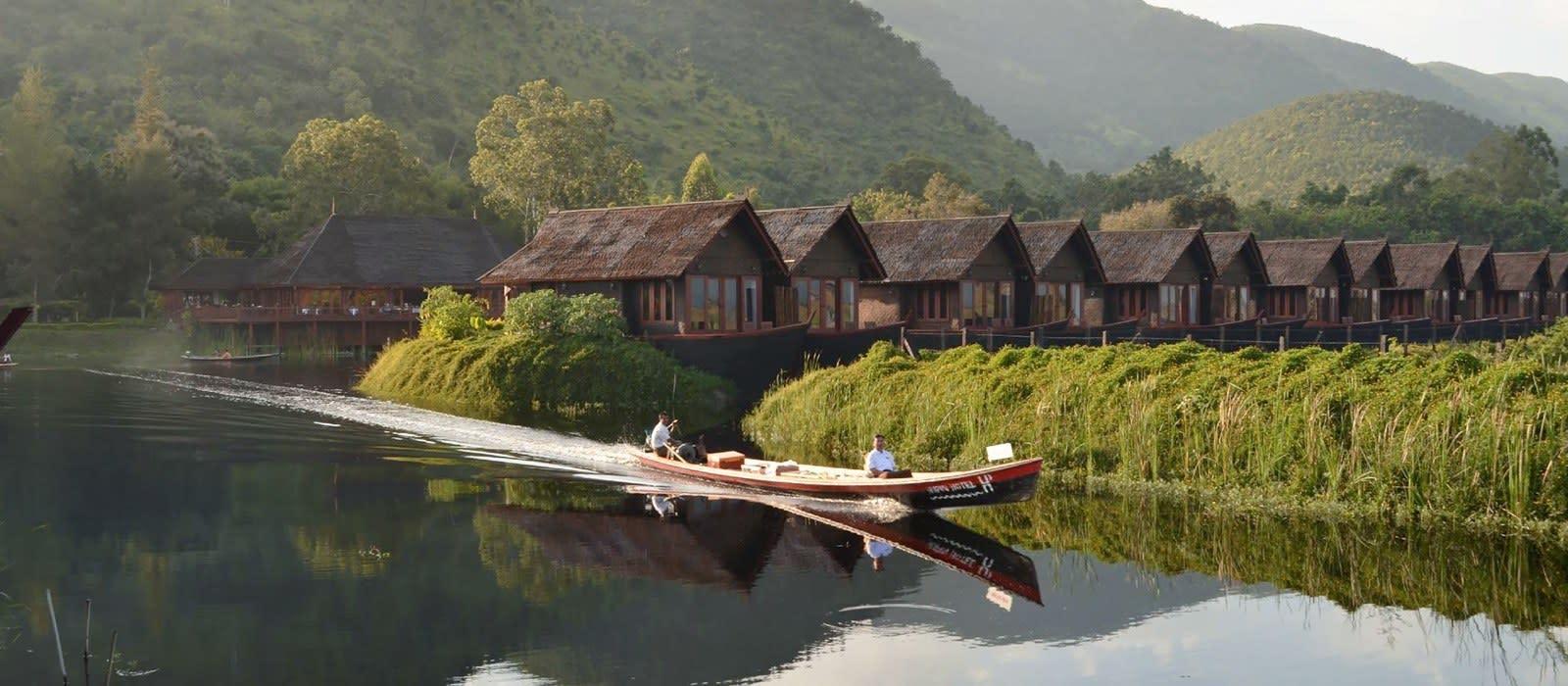 Hotel Pristine Lotus Spa Resort Myanmar