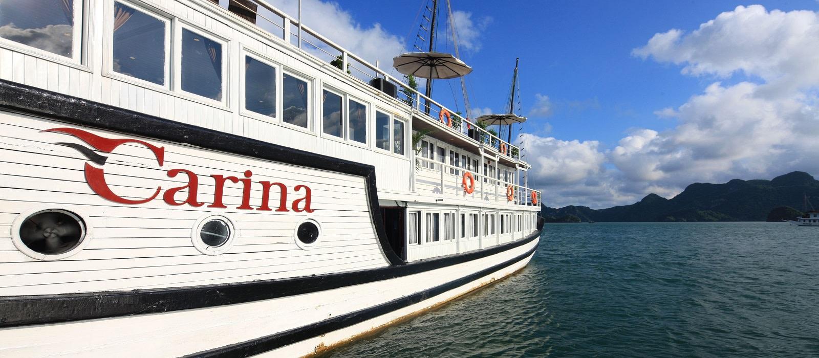 Hotel Carina CruiseCarina Cruise Halong Bay Vietnam