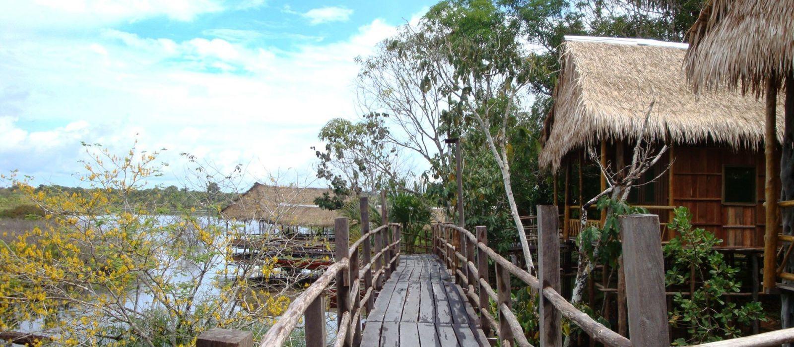 Hotel Tariri Amazon Lodge Brasilien