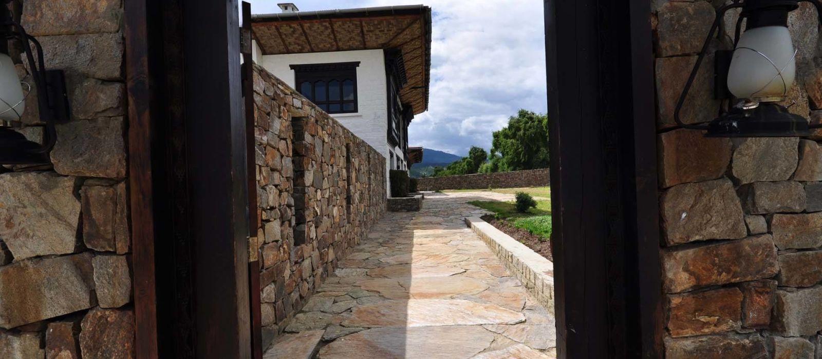 Hotel The Village Lodge, Bumthang Bhutan