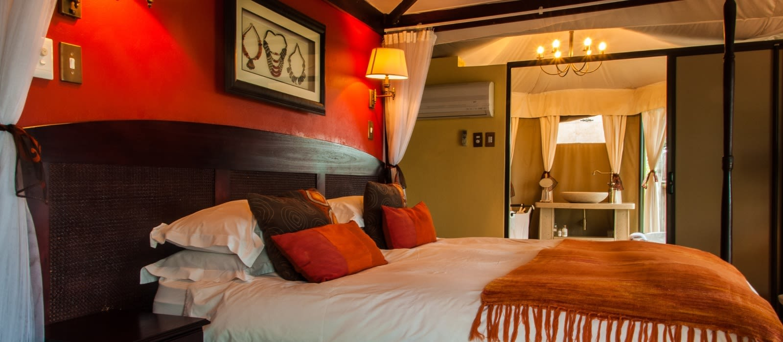 Hotel Elephant Camp Simbabwe