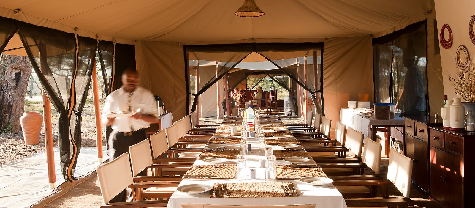 Hotel Bologonya Under Canvas Tansania
