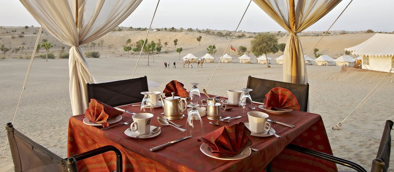 Hotel Manvar Desert Camp Nordindien
