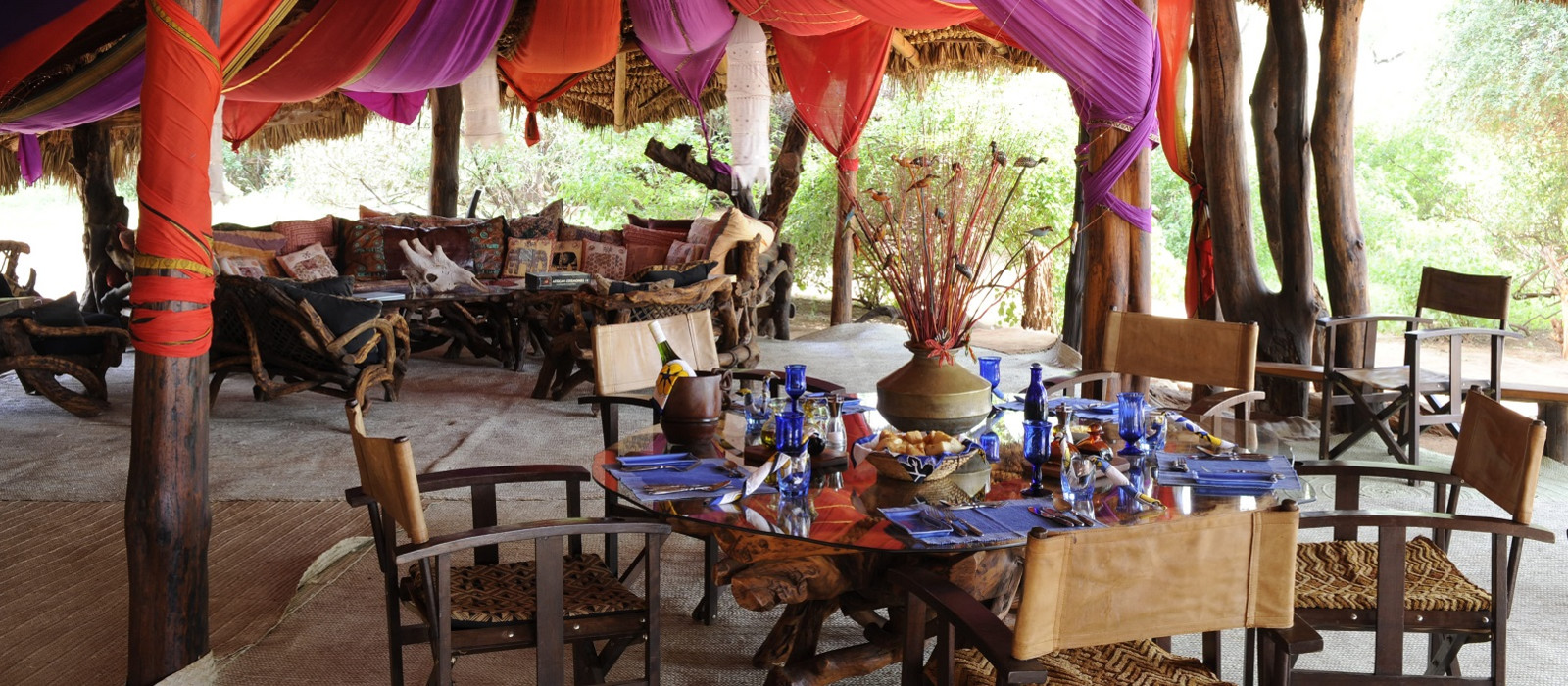 Hotel Elephant Watch Camp Kenya