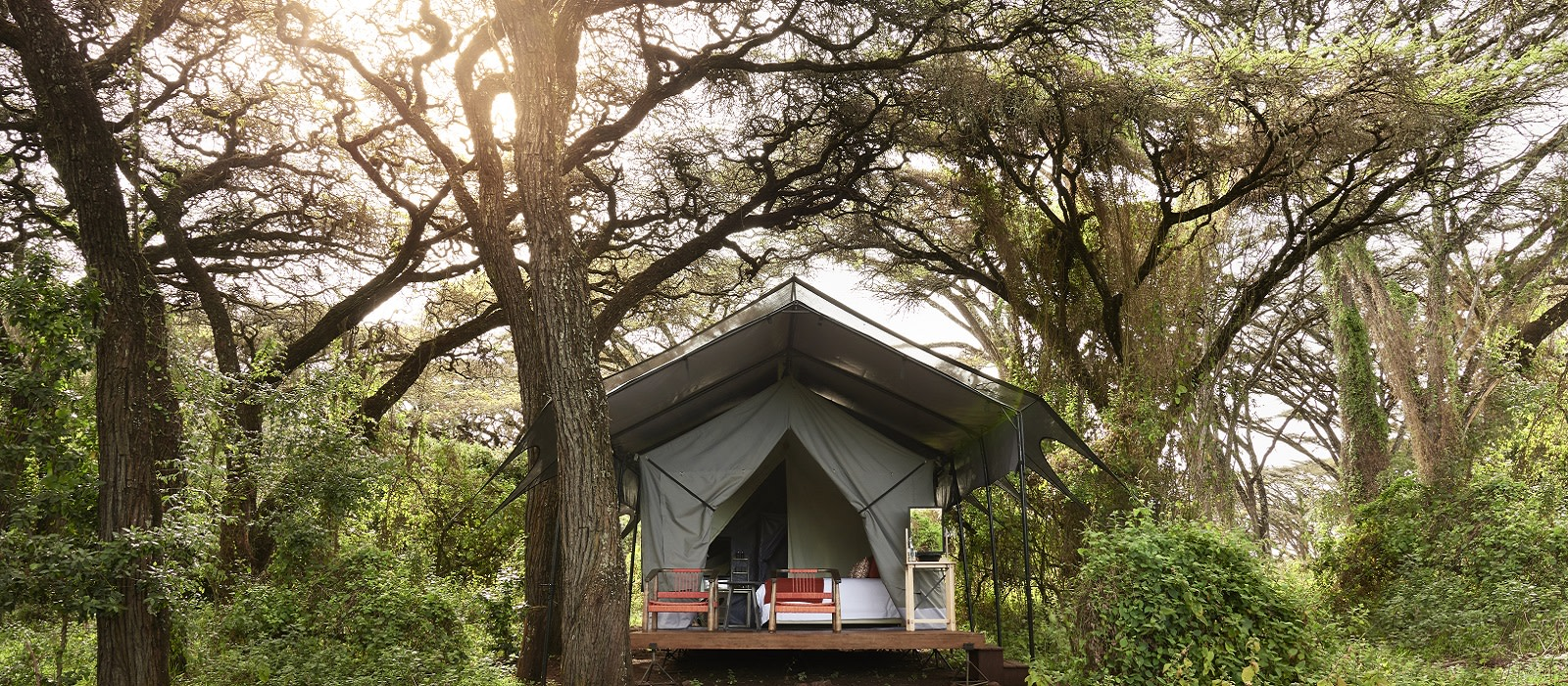Hotel Sanctuary Ngorongoro Crater Camp Tansania
