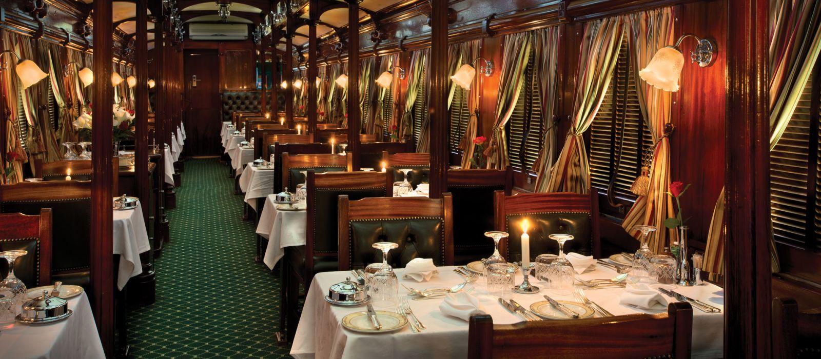 Hotel Rovos Rail: Pretoria – Viktoriafälle Südafrika