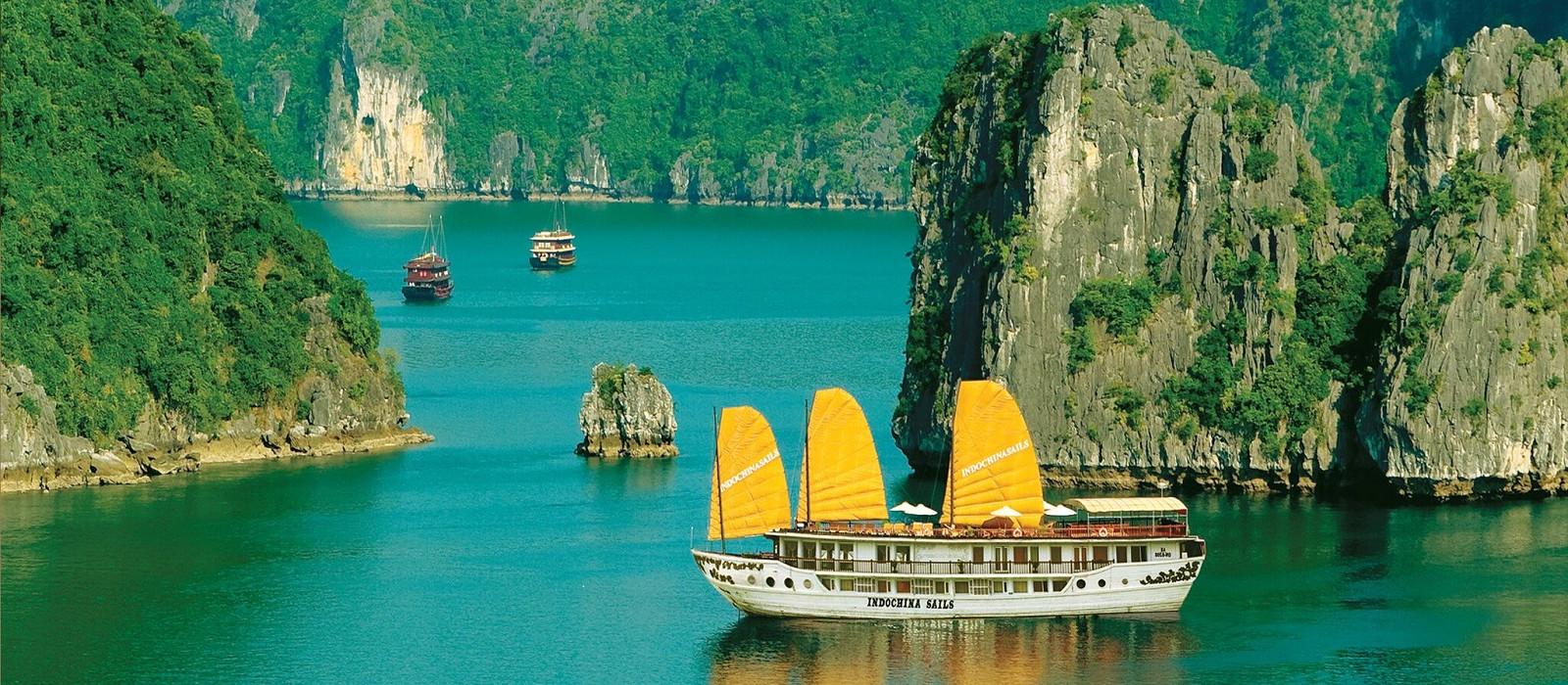 Hotel Kreuzfahrt mit Indochina Sails Vietnam