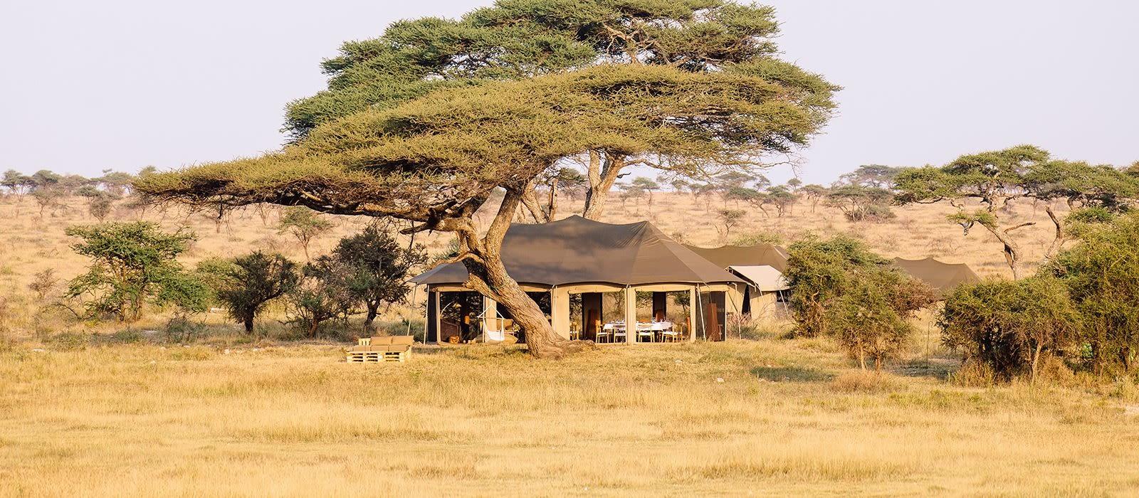 Hotel Namiri Plains Tented Camp Tansania